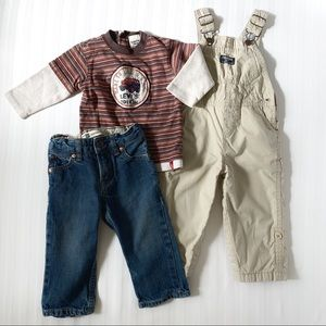 Levi's, OshKosh, Baby Gap bundle of 3